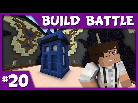 Minecraft Hypixel || Build Battle || WORST TARDIS EVER
