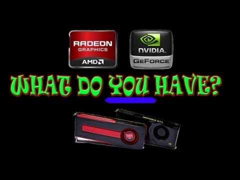 How to Check your Graphics Card on Windows 7 or 8