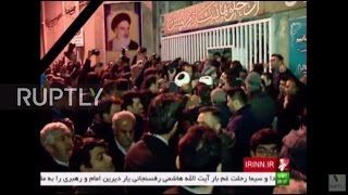 Iran: Hundreds gather to mourn former President Rafsanjani