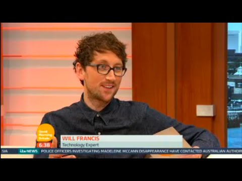 How To Avoid Data Roaming Charges When Travelling Abroad on Holiday - Good Morning Britain (ITV)
