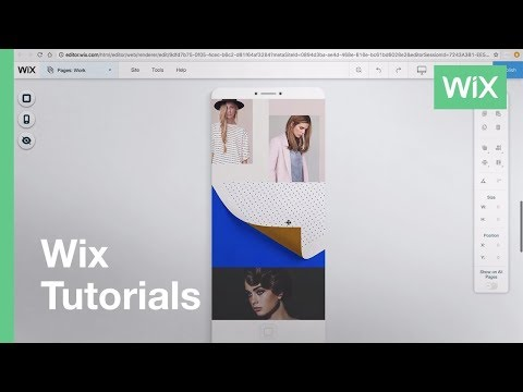 Wix.com | Mobile Hide/Show