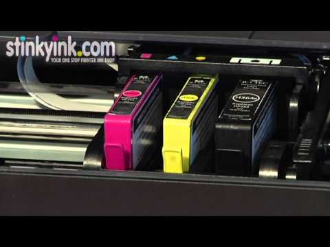 Installing the Stinkyink Compatible HP 364 Ink Cartridges
