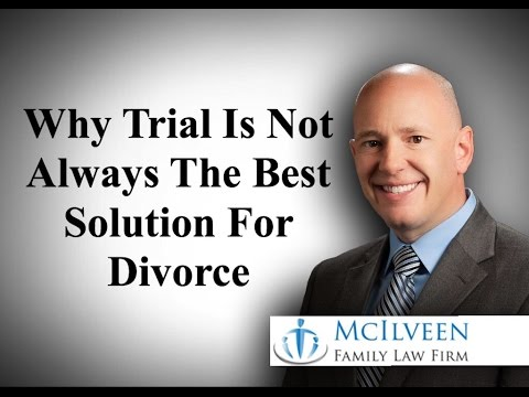 Why Trial is Not Always the Best Solution for Divorce in North Carolina