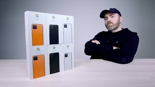 Unboxing Every Google Pixel 4