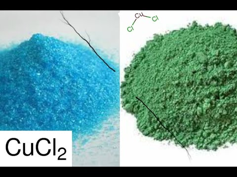 How to Make Copper (I) Chloride from Cu(II)Cl-- EASY!