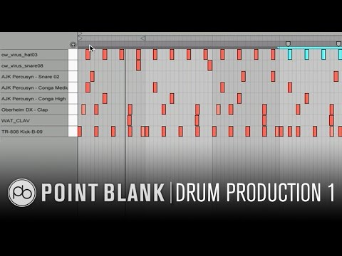 Drum Production & Sound Design in Ableton Live Part 1: Programming Drums