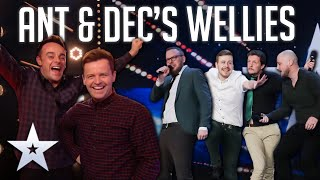 Unforgettable Audition: The Noise Next Door are READY TO RHUMBLE!   BGT 2020