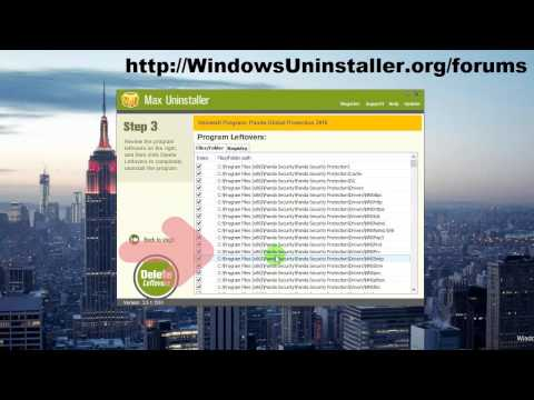 How to Remove Panda Global Protection 2016