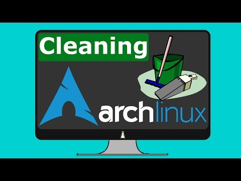 How to clean Arch Linux
