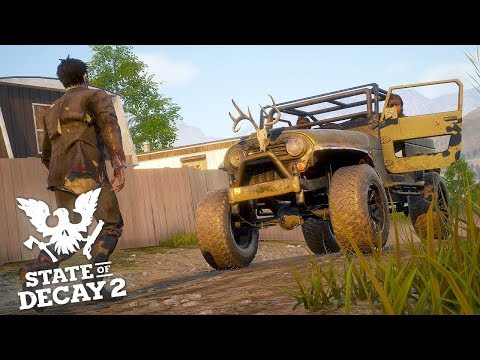 FINDING THE ZOMBIE PLAGUE CURE! State of Decay 2