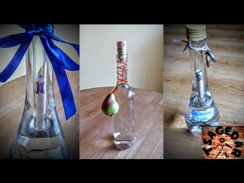 Peníze v lahvi / DIY Decorative money in bottle