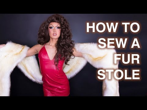 How to Sew a Long Fur Stole