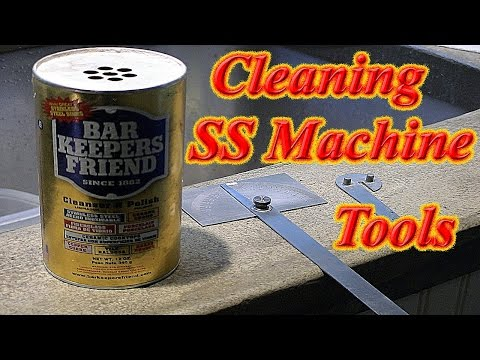 Cleaning Stainless Steel Machine Tools