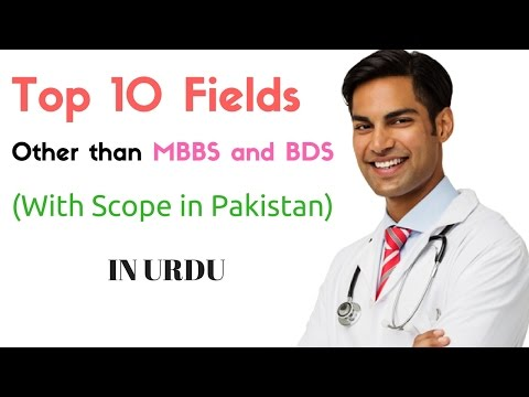Top 10 Fields Other Than MBBS and BDS (With Scope in Pakistan)