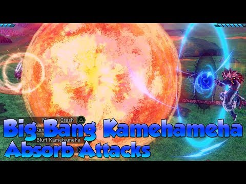 Which attacks can Big Bang Kamehameha Absorb?! - Dragon Ball Xenoverse 2