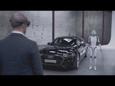 WATCH: This amazing AR experience from Audi is a world-first and it's right here in Dublin