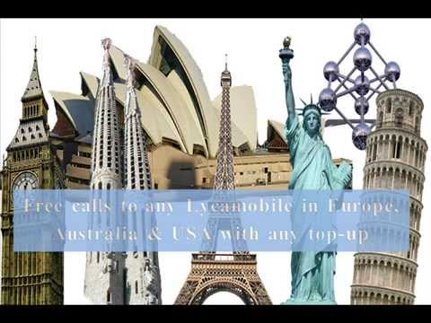 LycaMobile Free Call in Europe, Australia and USA