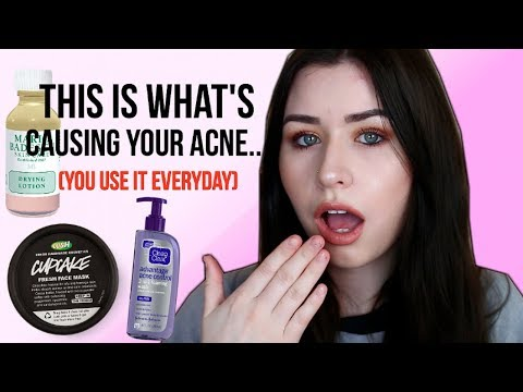 WHAT'S CAUSING YOUR ACNE! (You use it everyday)