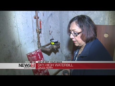 Sky-high water bill affects Gales Ferry resident