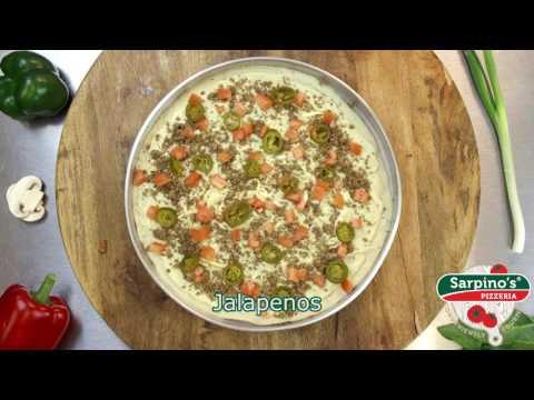 Thin Nachos Cheese Pizza - Sarpino's Pizzeria Video