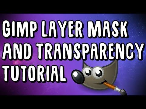 Gimp Tutorial - Transparency and Layer Masks