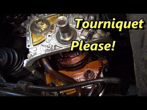 Toyota Camry Major Oil Leak