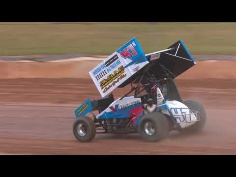 Garth Tander Drives Valvoline Sprintcar