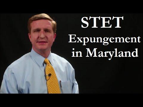 Stet Expungement in Maryland | MD Stet Expungement Attorney Randolph Rice, Jr.