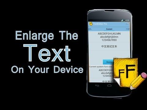 Assistive Technology Apps (Font Editor Pro)