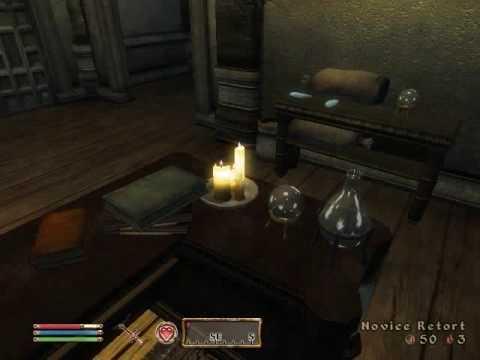 Oblivion Alchemy ingrediants