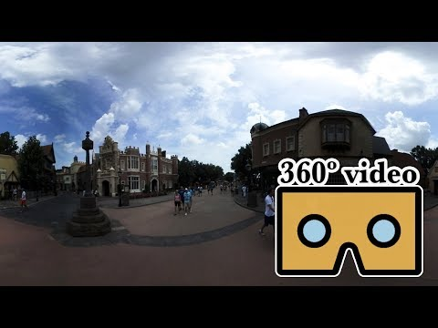 360º video: EPCOT world showcase walkthrough