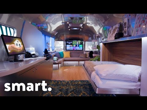 Smallest Ultimate Smart Home On Wheels - Tech Tour!