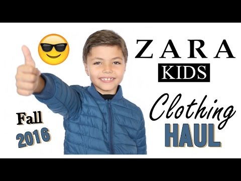 Kids Clothing Haul 2016 | Plus Try-On | Zara Kids | Beauty and Life
