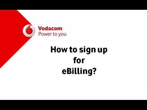 Vodacom now! Trending Tech: How to sign up for ebilling