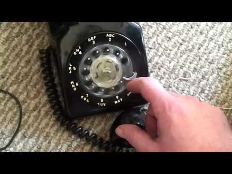 Panasonic 308 PBX switch with rotary phones and demo!