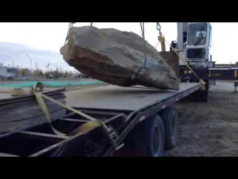 Crane lift/ Boom Truck