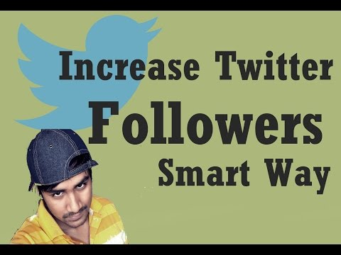 How to increase twitter followers without spending money