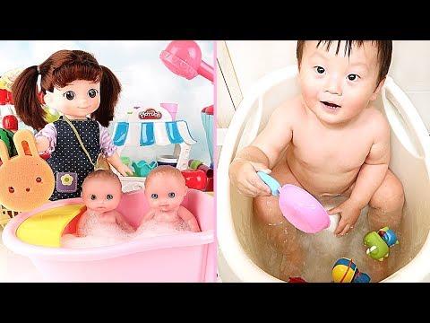 How To Make Bath Time Fun - Kongsuni Korean - Bathtub Fun Party