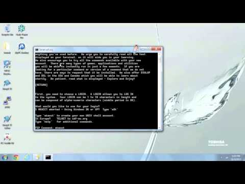 How to enable Telnet Windows 7