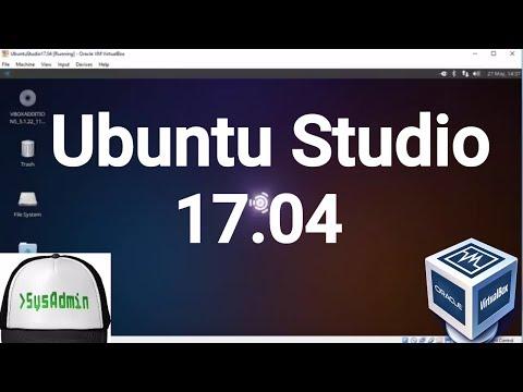 Ubuntu Studio 17.04 Installation + Guest Additions on Oracle VirtualBox [2017]