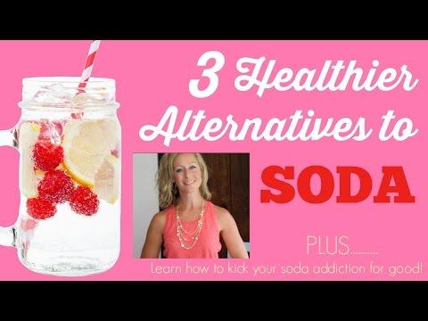 3 Healthy Alternatives to Soda