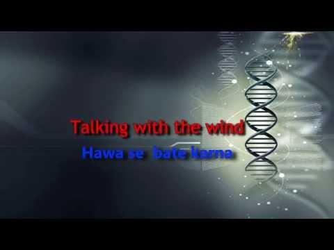 Talking with the sound/Hawa se bate karna