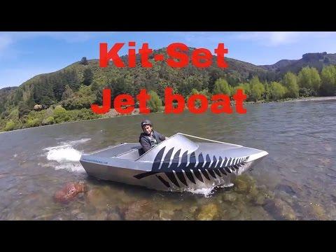 Jet Boat kitset testing