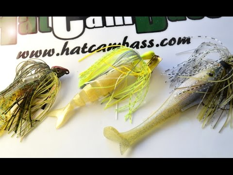 Swim Jig/Chatterbait - Trailers and Colors
