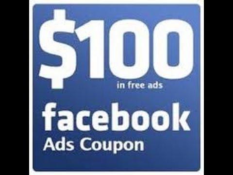 Get free facebook advertising coupon 2017
