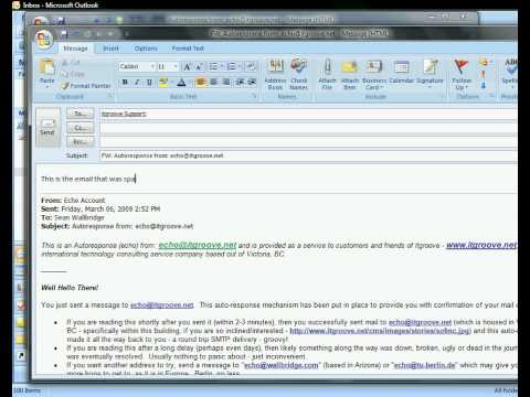 How to Get and Submit your Outlook 2007 Message Headers