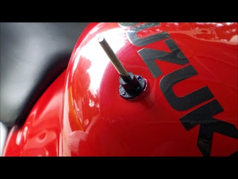 Removing a Dent from a Motorcycle Tank