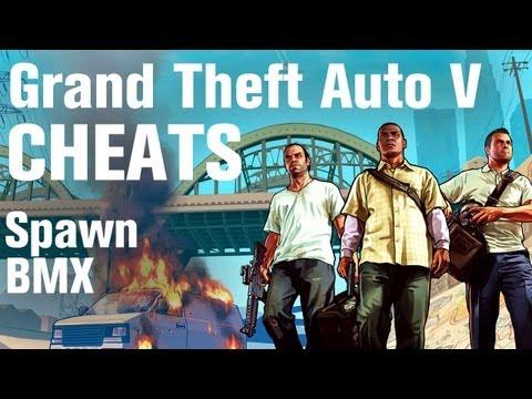 GTA 5 Cheats - Spawn BMX