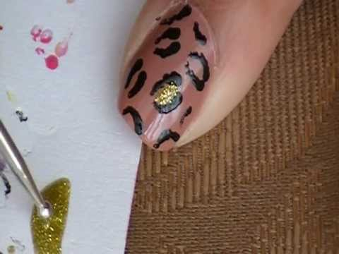 Easy Cheetah Print Nail Design (Requested)