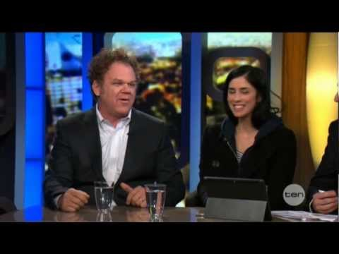 John C. Reilly & Sarah Silverman interview - The Project (2012) Wreck-It Ralph